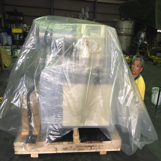 水平式珠磨機15L(防爆型) 木箱內層包裝